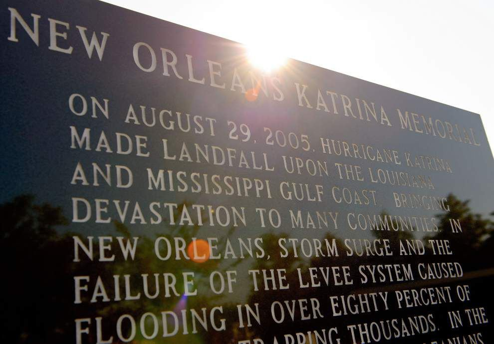 Solemn remembrances underway for Katrina anniversary _lowres