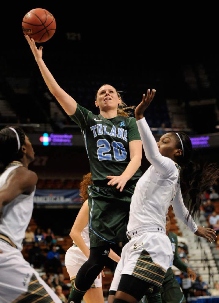 Tulane women are ready to face a familiar foe — Mississippi State — in a new place: the NCAA tournament _lowres