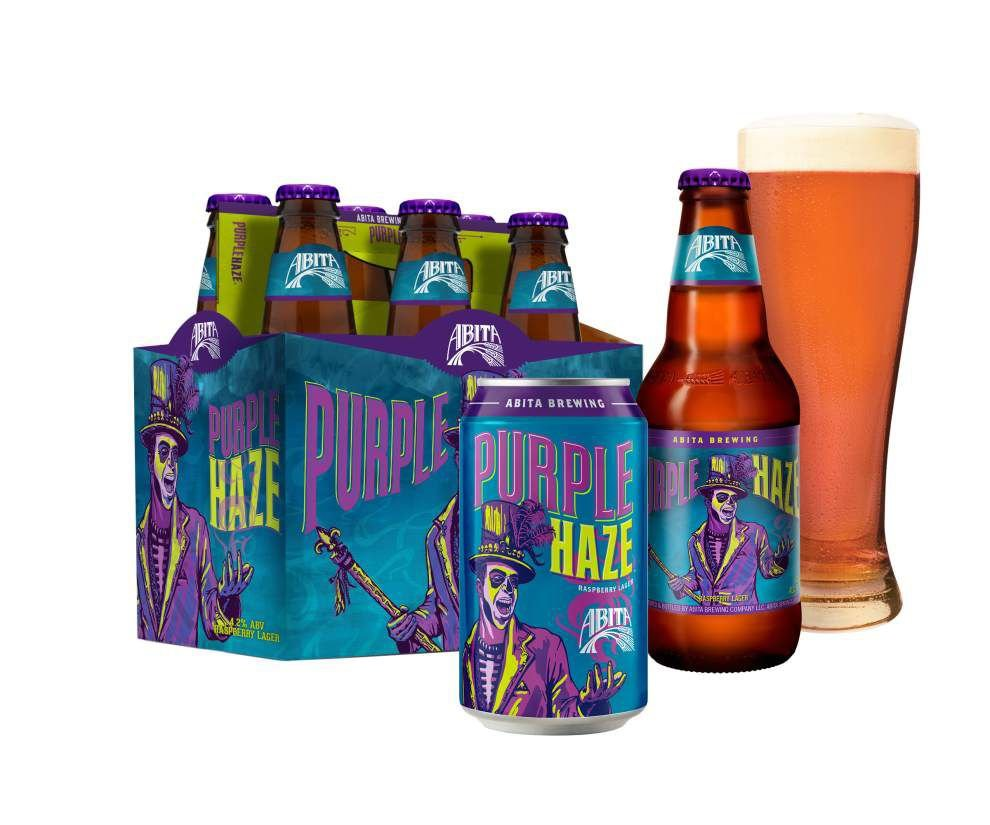 Abita's new beer packaging design inspired by local culture, art, colors of New Orleans _lowres