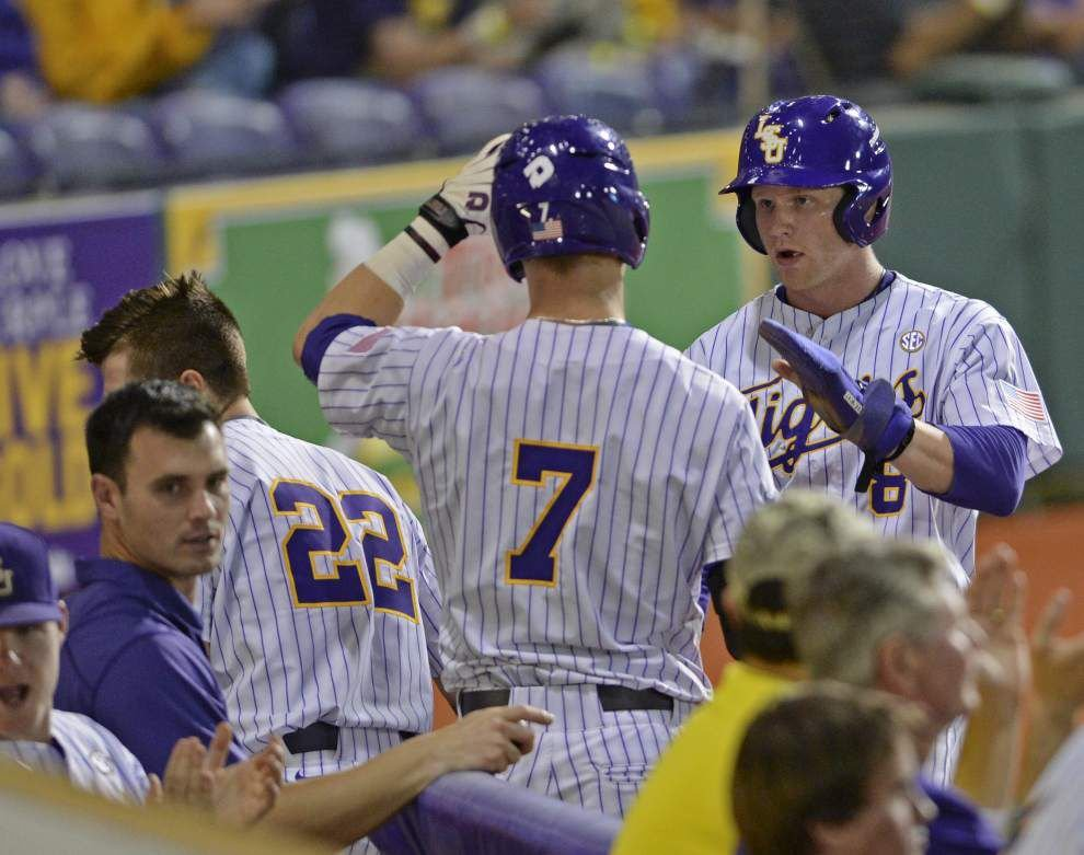 Live updates: LSU baseball faces Ball State in Game 3 of series _lowres