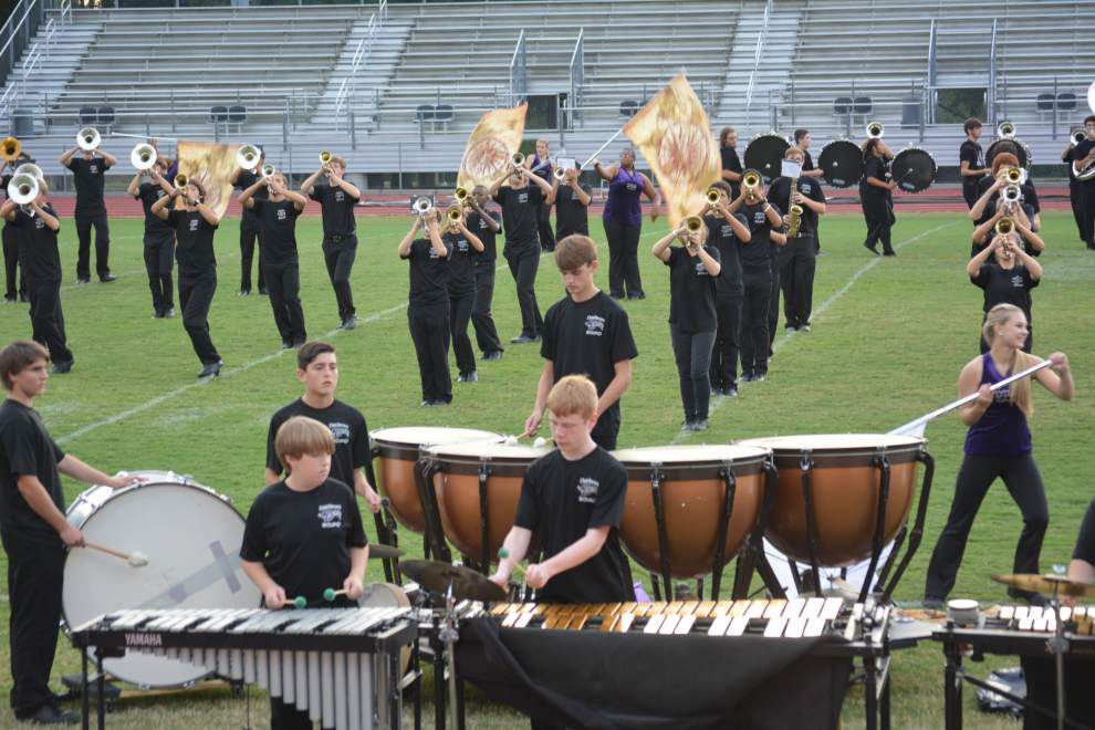 800 musicians take over Dutchtown High field for first Bandboree _lowres