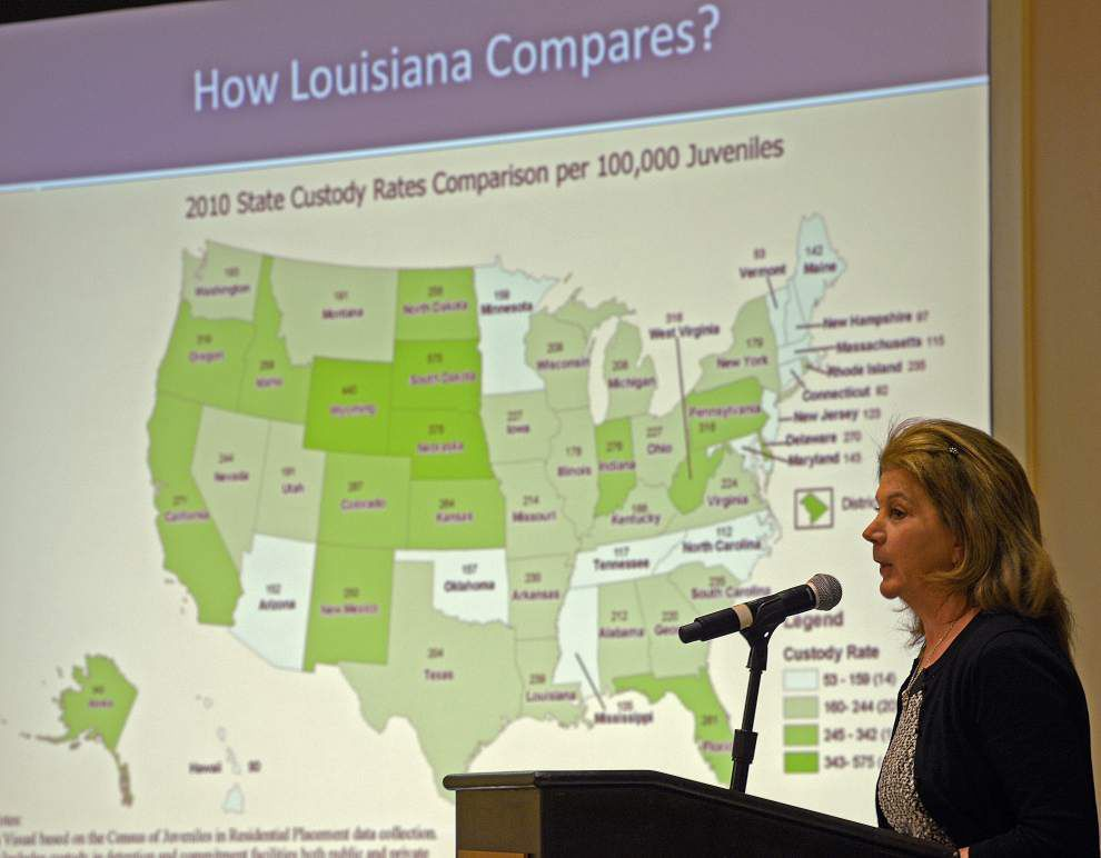 Louisiana to study idea of treating 17-year-old offenders as juveniles rather than adults _lowres