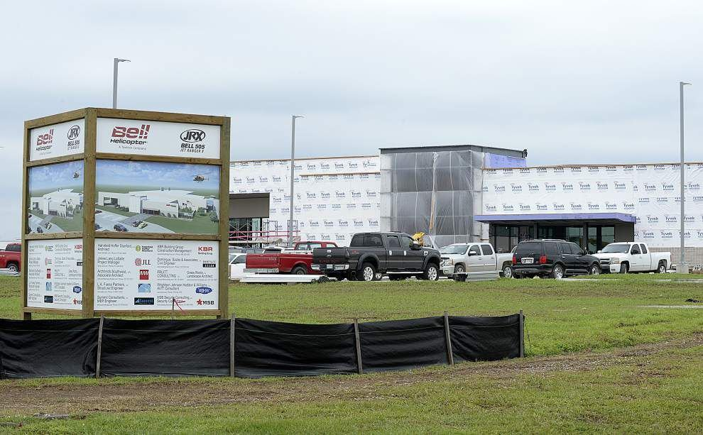 Bell Helicopter says job cuts won't affect hiring plans for new plant in Lafayette _lowres