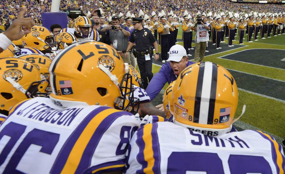 Rabalais: Expect some answers — finally — as LSU football journeys to Mississippi State on Saturday night _lowres