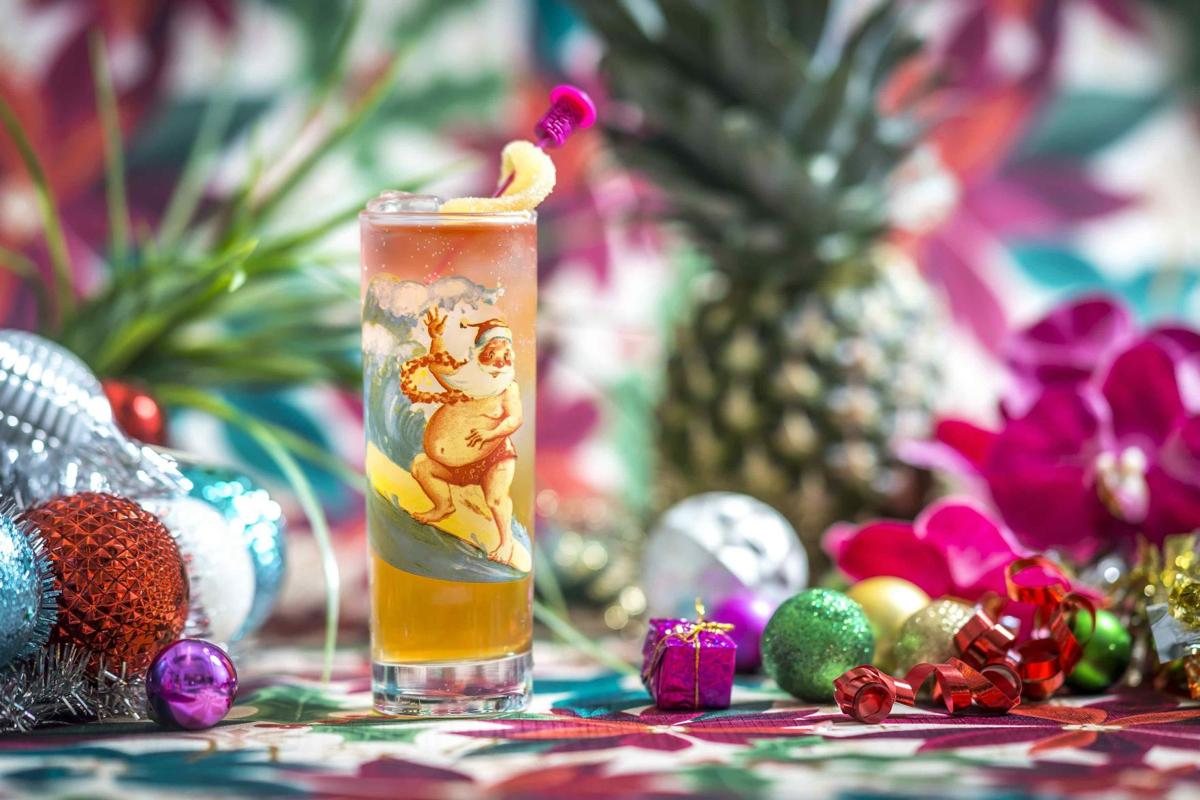 Sippin' Santa returns to Beachbum Berry's Latitude 29_lowres