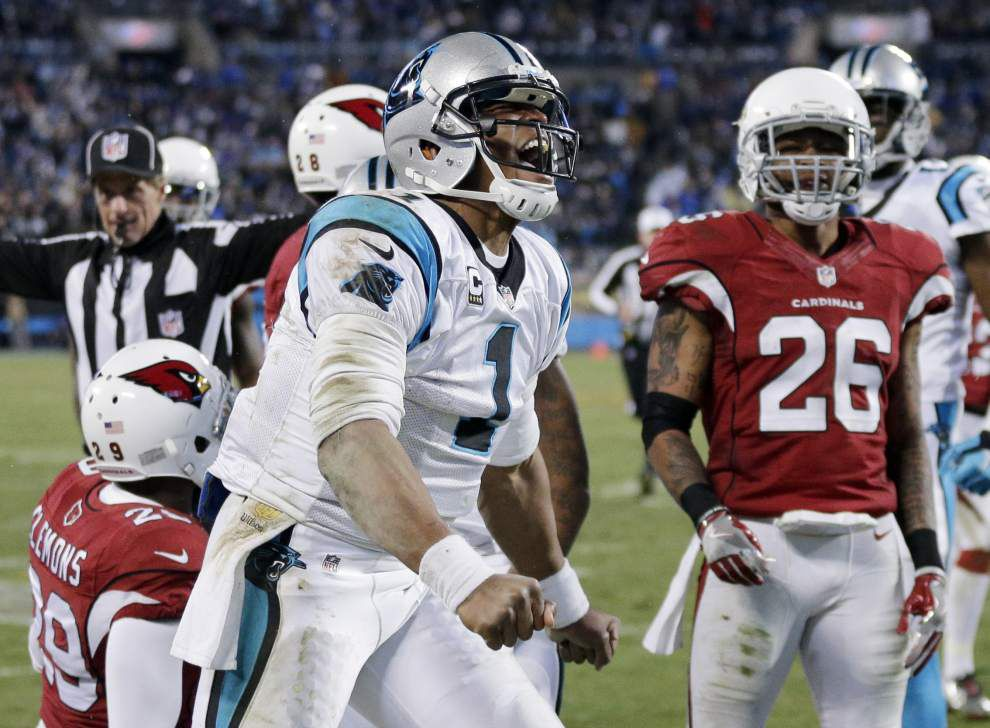 Panthers dominate Cardinals 49-15 to clinch spot opposite Broncos in Super Bowl 50 _lowres