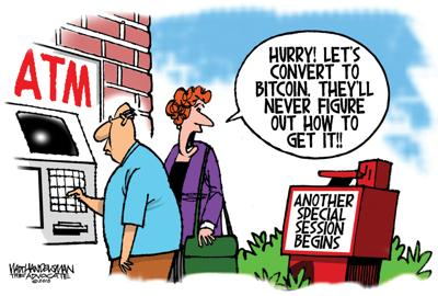 Walt Handelsman: New Caption Contest Winners!