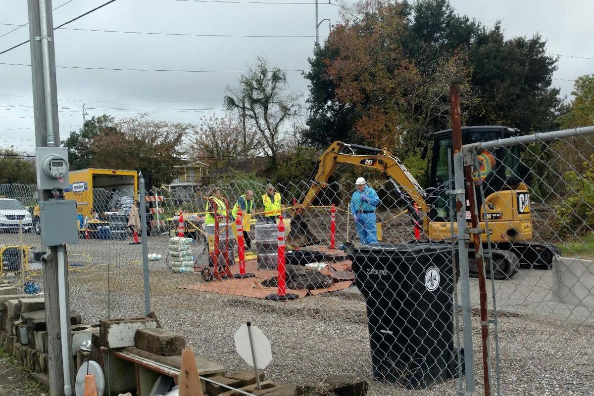 Gert Town radium removal