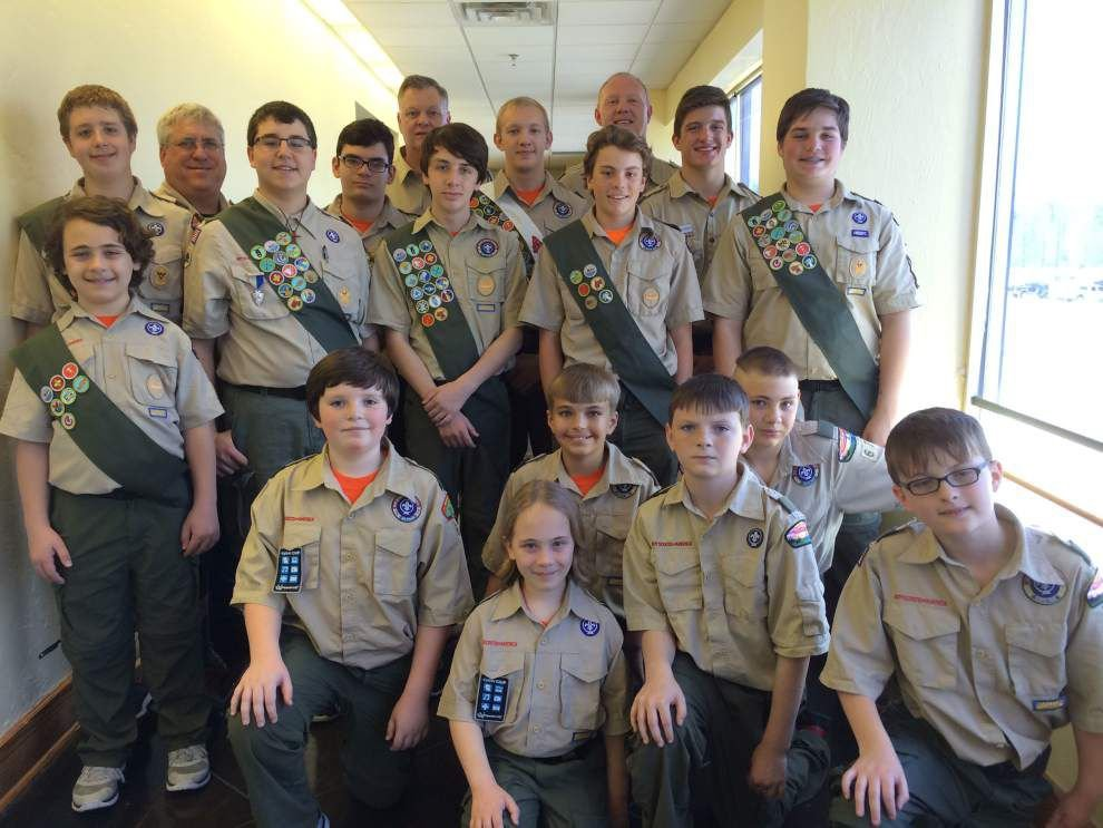 Boy Scout Troop 67 holds Court of Honor ceremony _lowres