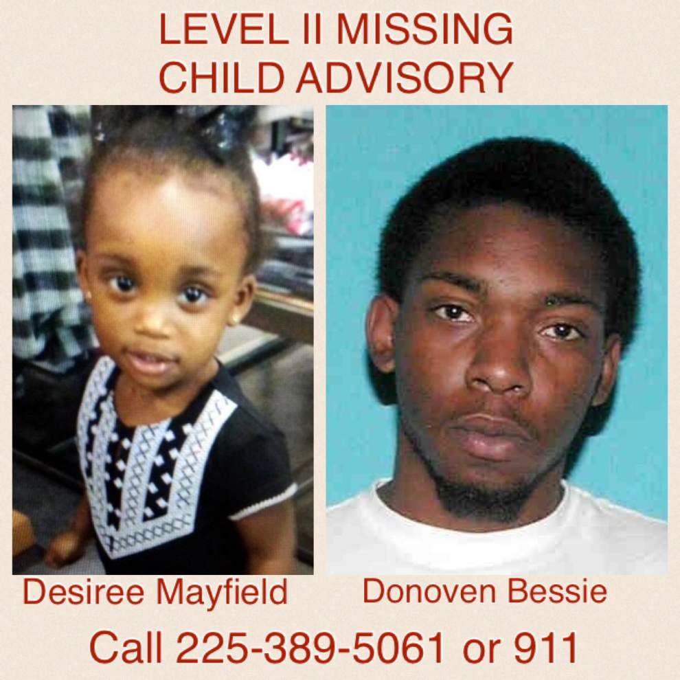 Sheriff's office say missing girl has been found safe in Baton Rouge; suspect found hiding in trunk of car _lowres