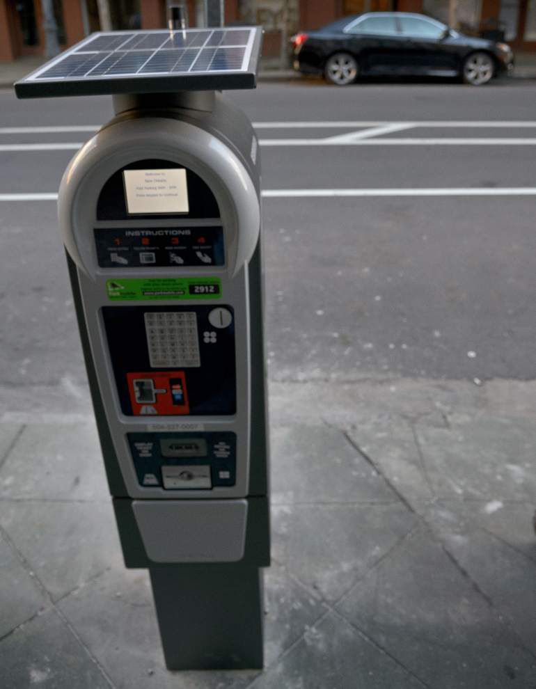 Parking meter rate hikes, extended hours take effect Monday in New Orleans _lowres
