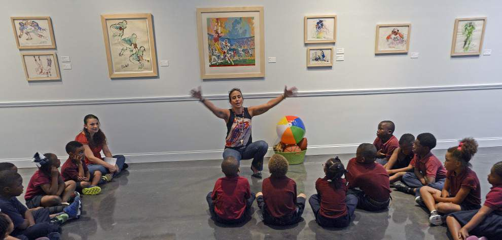 'I get to do this' — LSU Museum of Art encourages budding artists _lowres