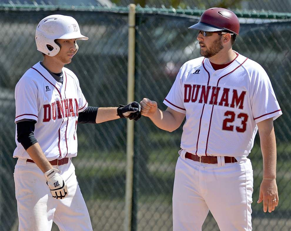 Dunham edges Brusly in wild eight-inning affair, 17-16 _lowres