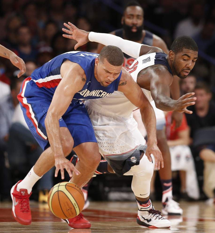 U.S. routs Dominicans in exhibition; Derrick Rose rests _lowres