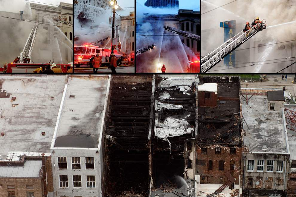 From start of major Canal Street fire to finish, see dramatic photos, videos from historic New Orleans CBD blaze _lowres