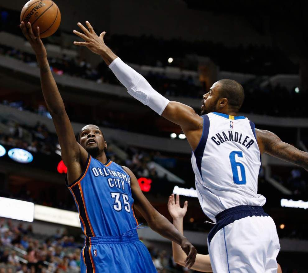Notebook: Thunder star Kevin Durant has foot fracture, likely out six to eight weeks _lowres