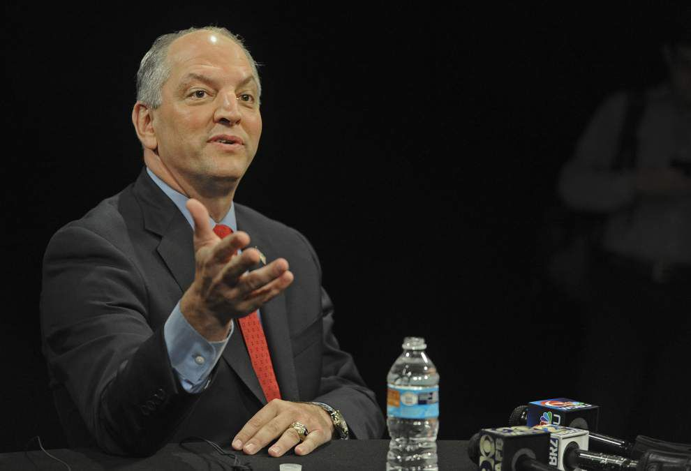 In ruby-red Louisiana, John Bel Edwards taking unique approach as Democratic candidate _lowres