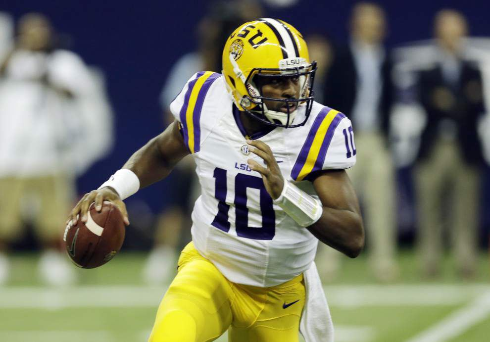 LSU quarterbacks Anthony Jennings, Brandon Harris still in a tight race _lowres