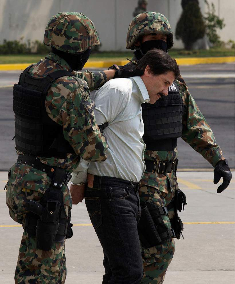 Wiretaps, aides led to Mexican drug lord's arrest _lowres