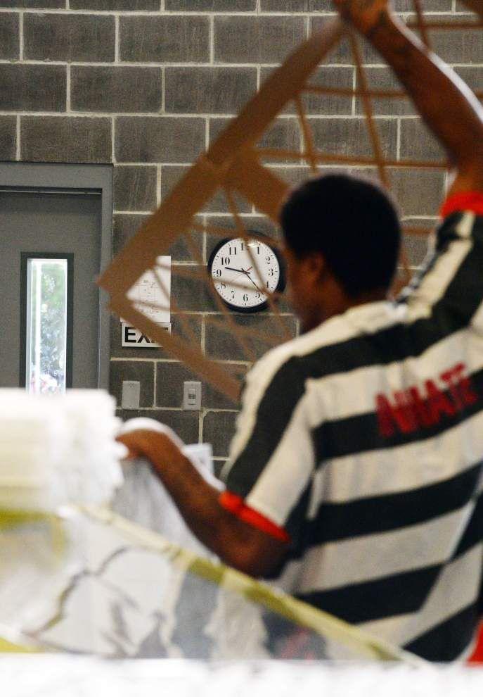 Lafayette Parish jail inmates learning skills — and local