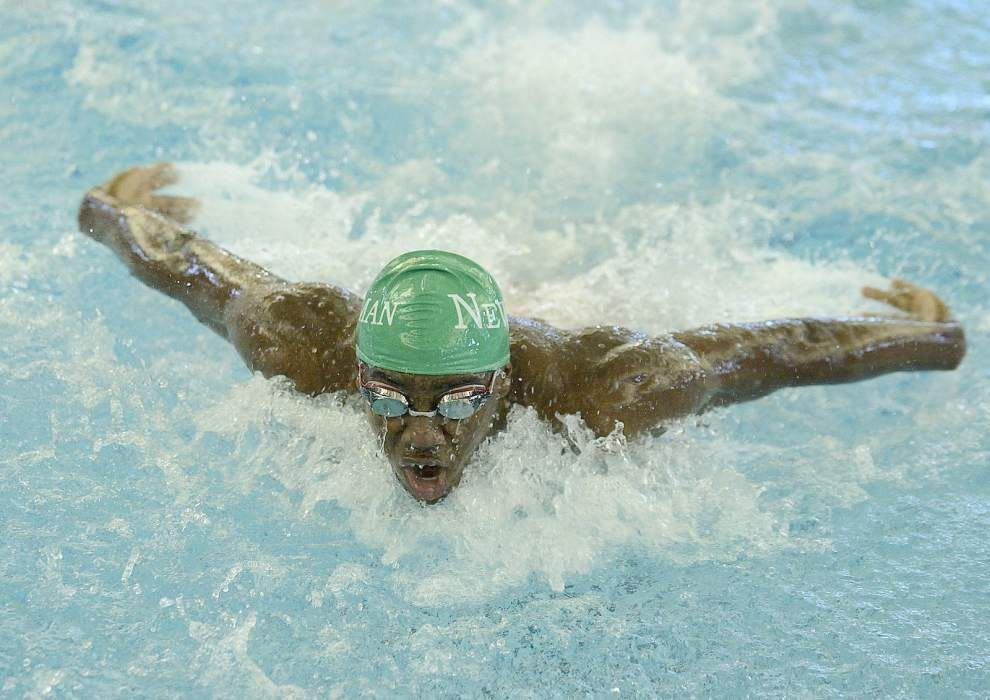 Lusher, E.D. White claim state swimming crowns _lowres