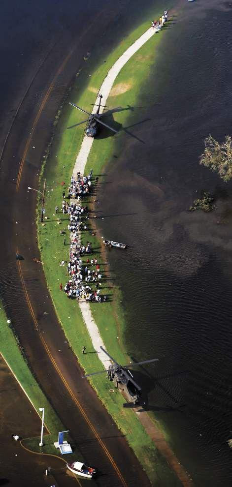 Hurricane Katrina rescue effort was a motley, ad hoc operation _lowres