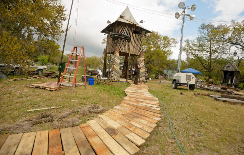 Musical-architectural installation opens in City Park _lowres