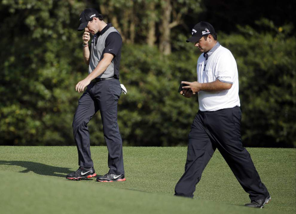 Patrick Reed misses the cut at the Masters _lowres