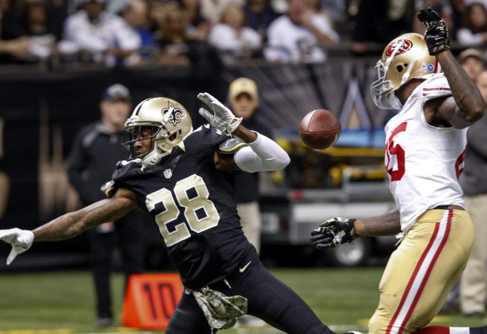 Keenan Lewis, Kenny Vaccaro react to Junior Galette's release _lowres