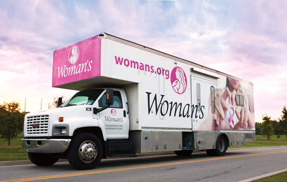 Woman's receives grant for mobile mammograms _lowres