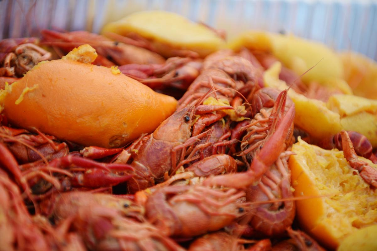 Crawfish Boil for Red