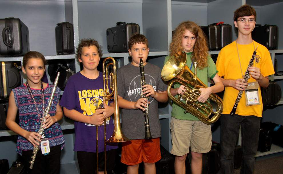 Students chosen for band honors _lowres