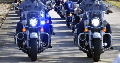 BRPD motorcycle stock