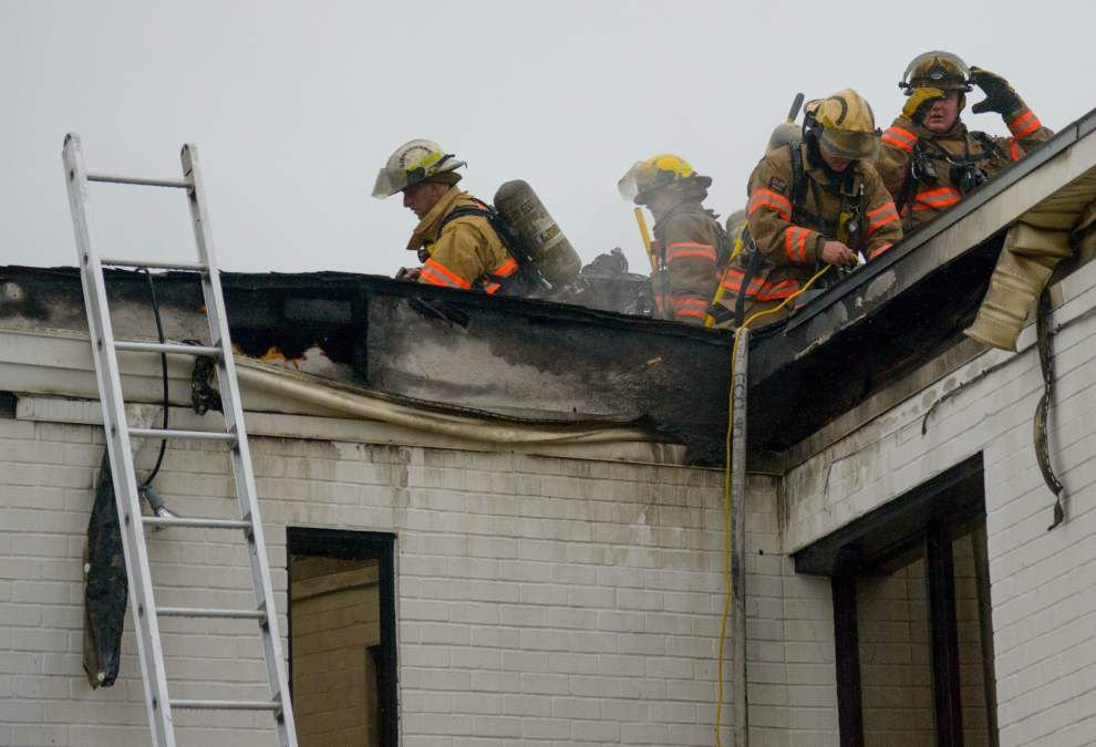 Fire damages Metairie weight-loss clinic; cause may have been lightning or electrical problem _lowres
