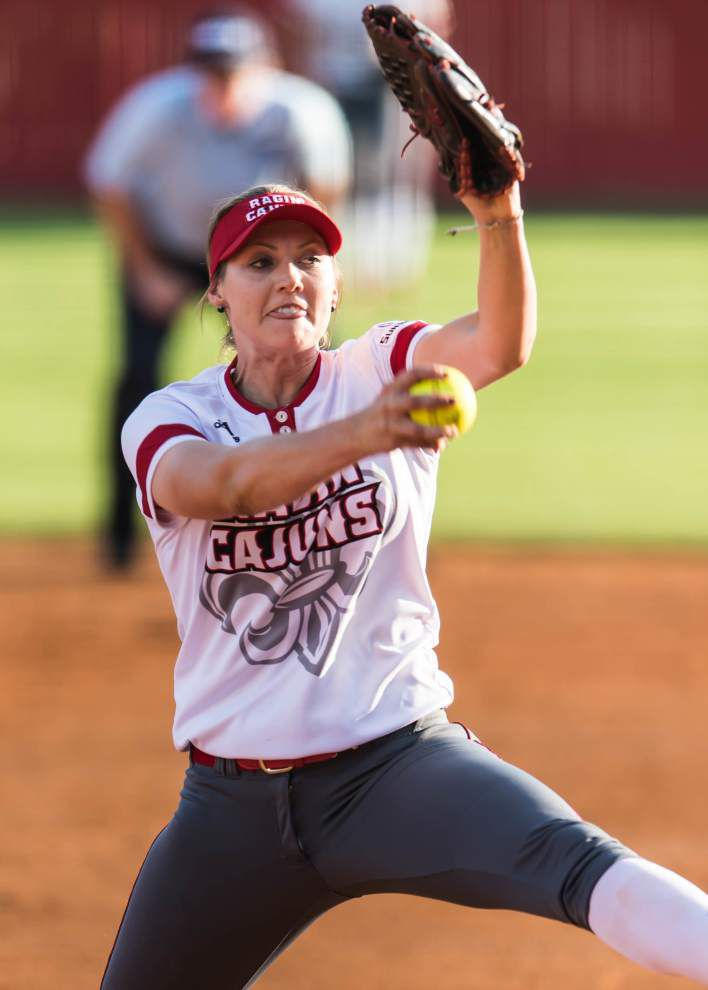 UL-Lafayette softball pitcher Macey Smith says she was prepared for expanded role at Sun Belt tournament _lowres