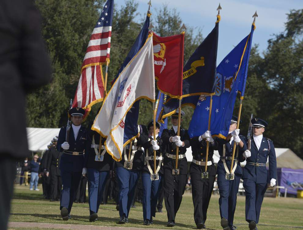 LSU alumni honored for military service, inducted into Hall of Honor _lowres
