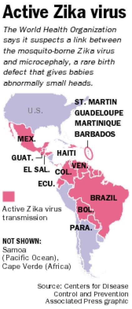 Air conditioning, window screens and mosquito-control programs should help keep Zika virus outbreak from Louisiana _lowres