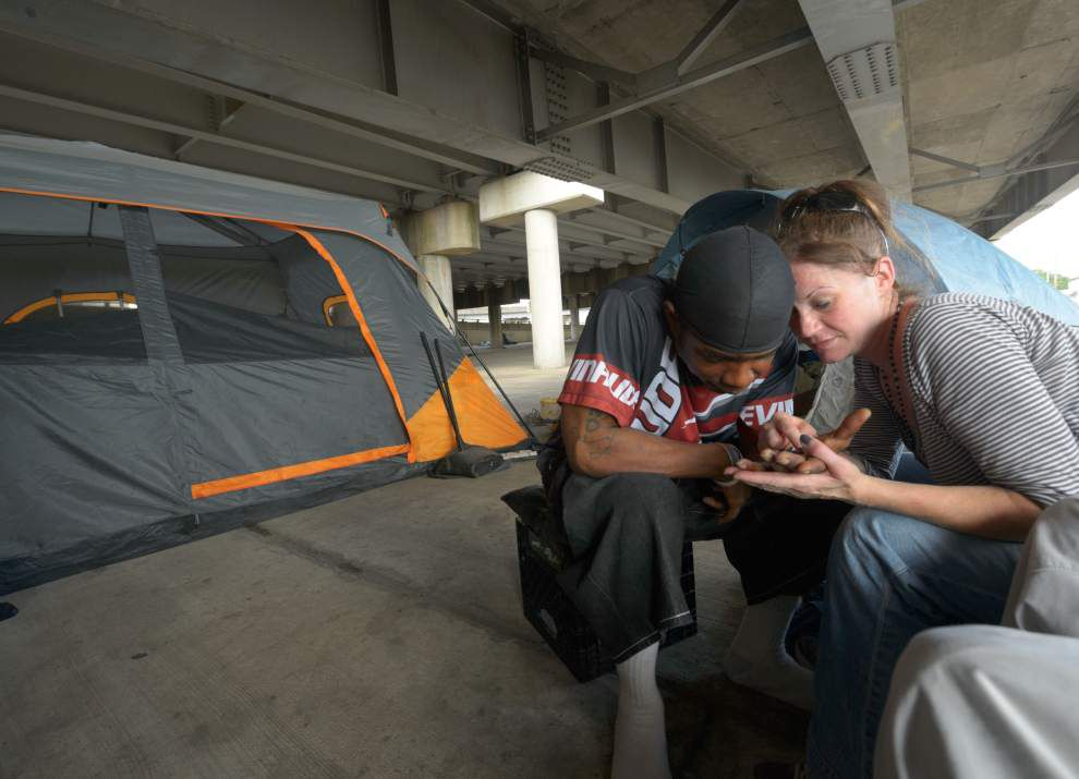 Homeless camping under Pontchartrain Expressway ordered to vacate _lowres