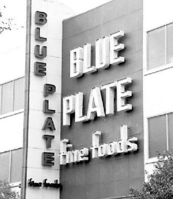 300 Blue Plates