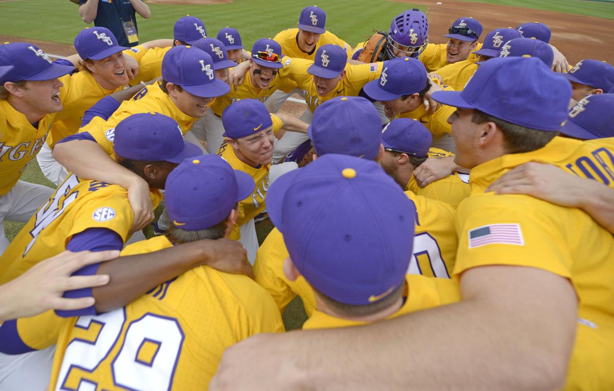 4691ccf28b2 LSU heading to Oregon State for NCAA baseball tournament regional  see full  schedule