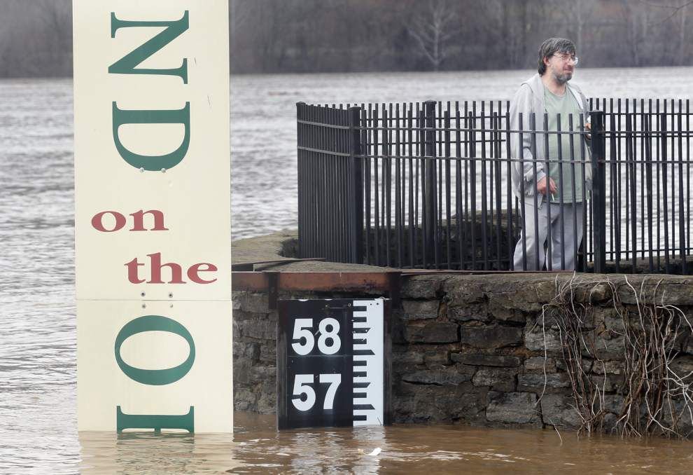 Mississippi, Atchafalaya rivers expected to swell from spring rains, snow thaw in Tennessee, Ohio river valleys _lowres