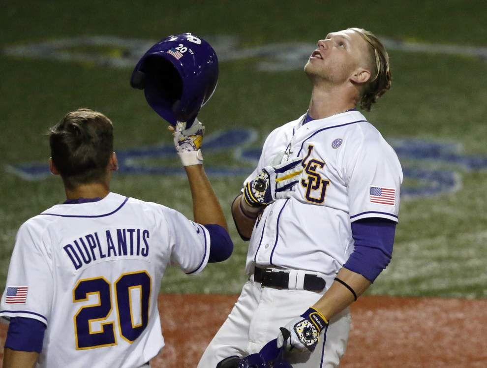 After long, tense evening, Jake Fraley drafted by Tampa Bay Rays; LSU signee Riley Pint goes 4th _lowres