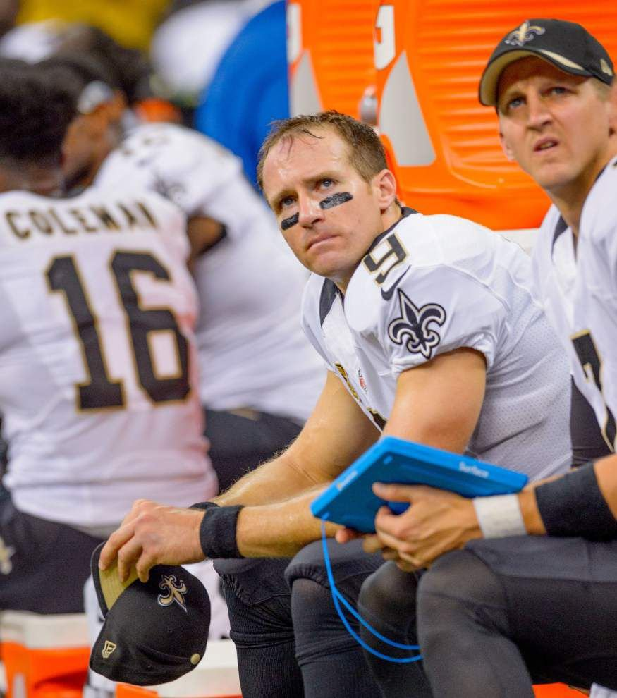 Lewis: Even with Drew Brees, Saints just not good enough to make playoffs this year _lowres