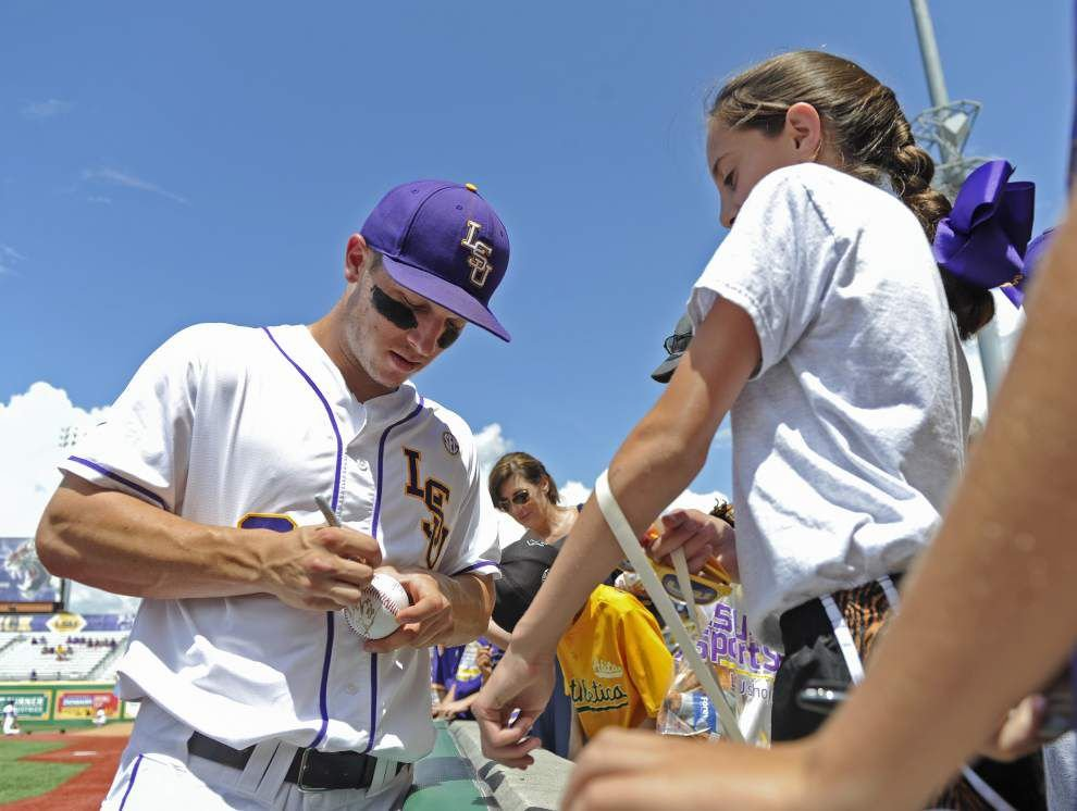 Alex Bregman's dedication to baseball has LSU aiming for its 7th College World Series title _lowres