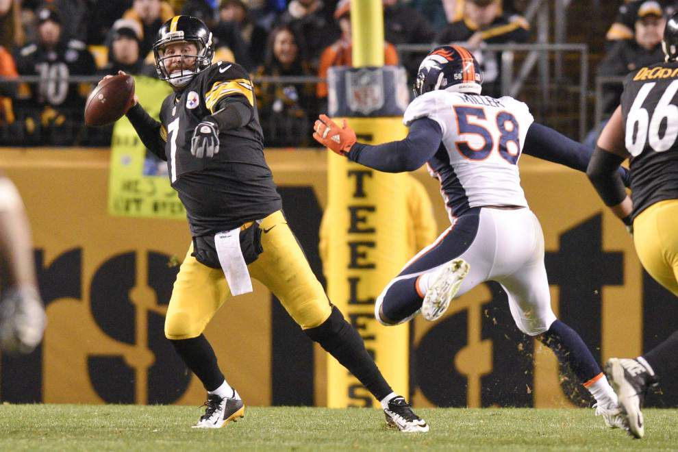 Peyton Manning and the Broncos are ready for Ben Roethlisberger and the banged-up Steelers _lowres