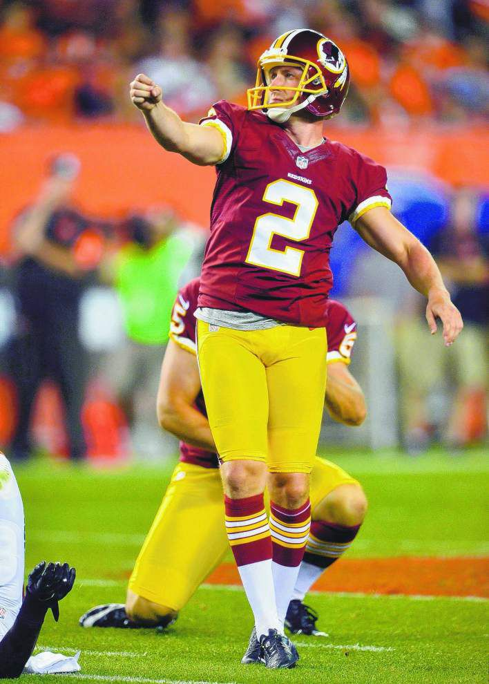 Kai Forbath comfortable with Saints' 'kicker-friendly' environment _lowres