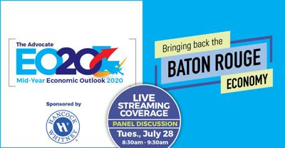 Baton Rouge economic outlook summit, July 28, 2020, at 8:30 a.m.