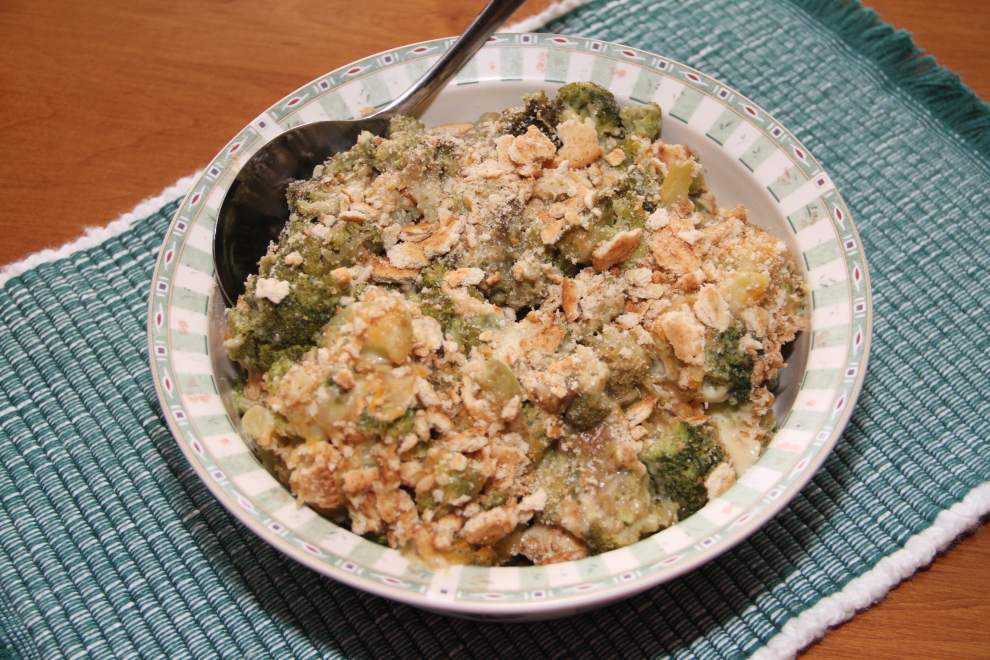 What a Crock!: Shake up old favorite broccoli casserole _lowres