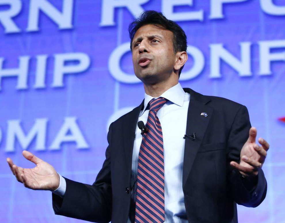 Stephanie Grace: Bobby Jindal talking good game on campaign trail, but his Louisiana record tripping him up _lowres