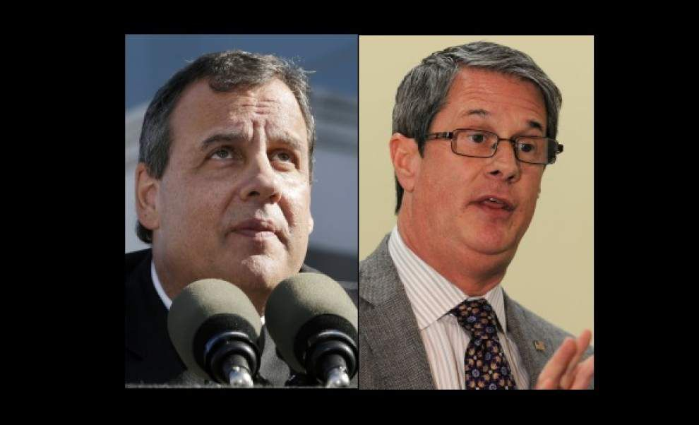New Jersey Gov. Chris Christie coming to Baton Rouge to stump for U.S. Sen. David Vitter's bid for Louisiana governor _lowres